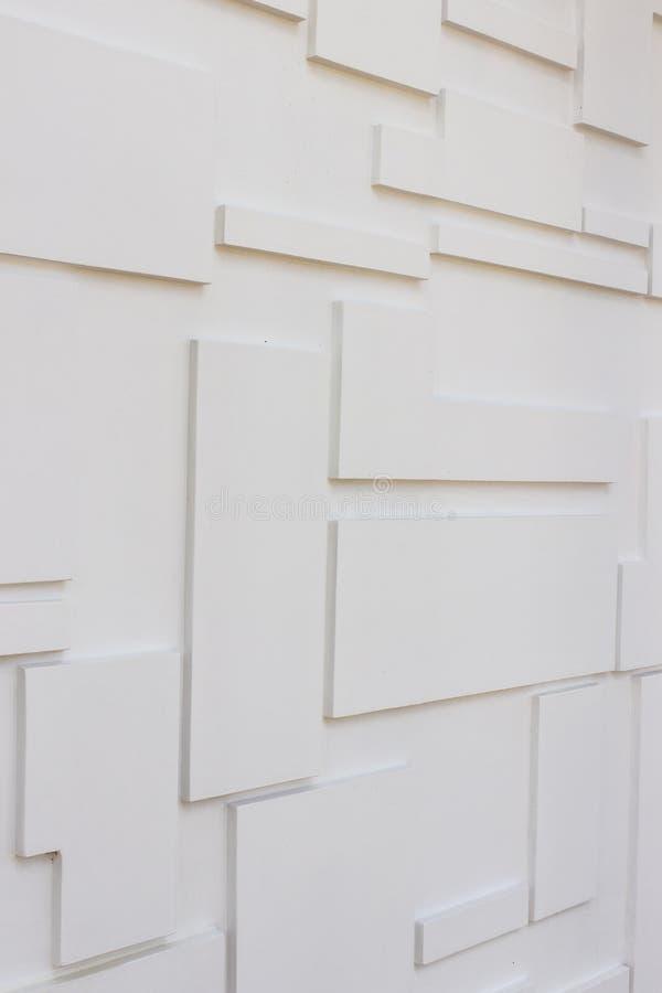 Détails de construction : les Multi-niveaux murent pour la décoration externe photos libres de droits