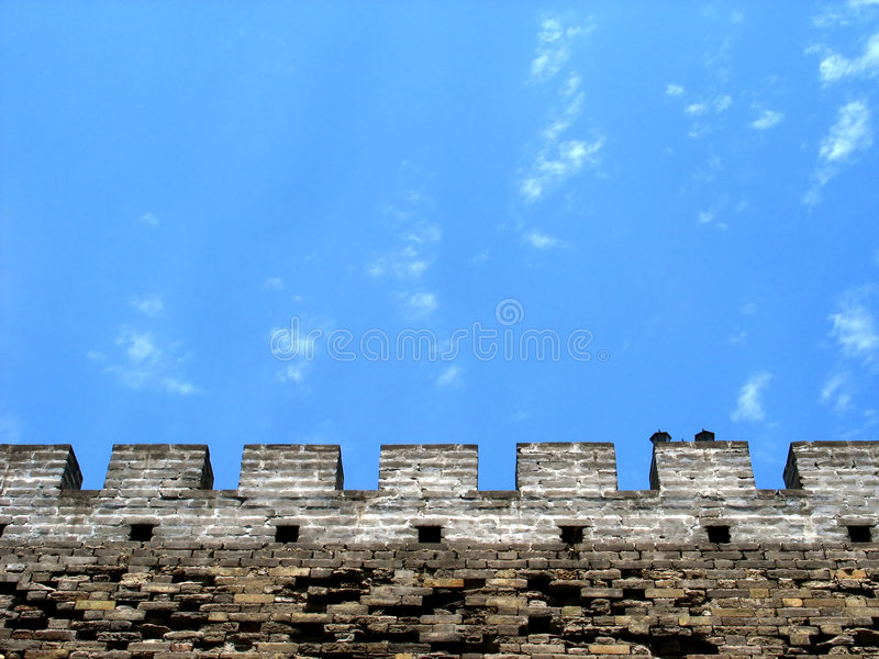 Détails de Grande Muraille photos libres de droits