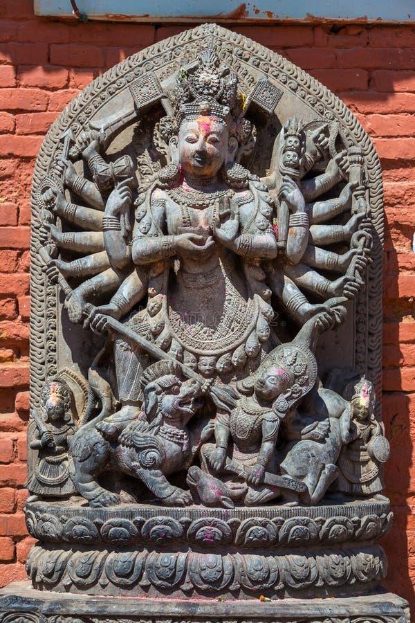 Détails de la partie historique de la ville Bhaktapur Durbar Squa photos libres de droits