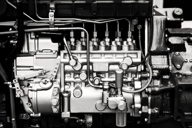 Détails de moteur de voiture photographie stock libre de droits