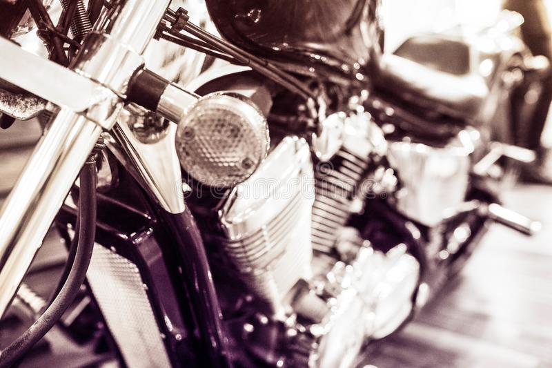 Détails de motobike photos libres de droits