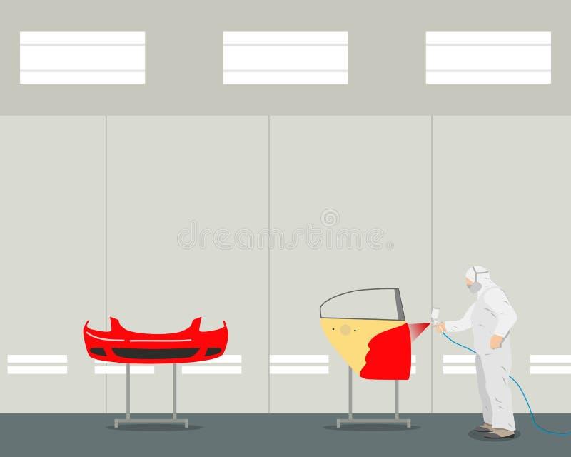 Détails de peinture illustration de vecteur