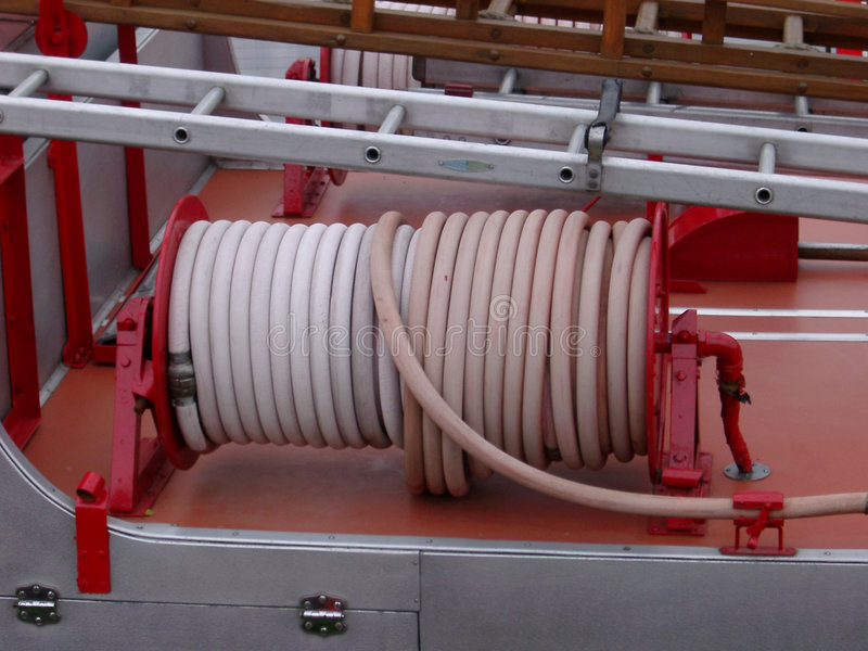Détails de pompe à incendie image stock