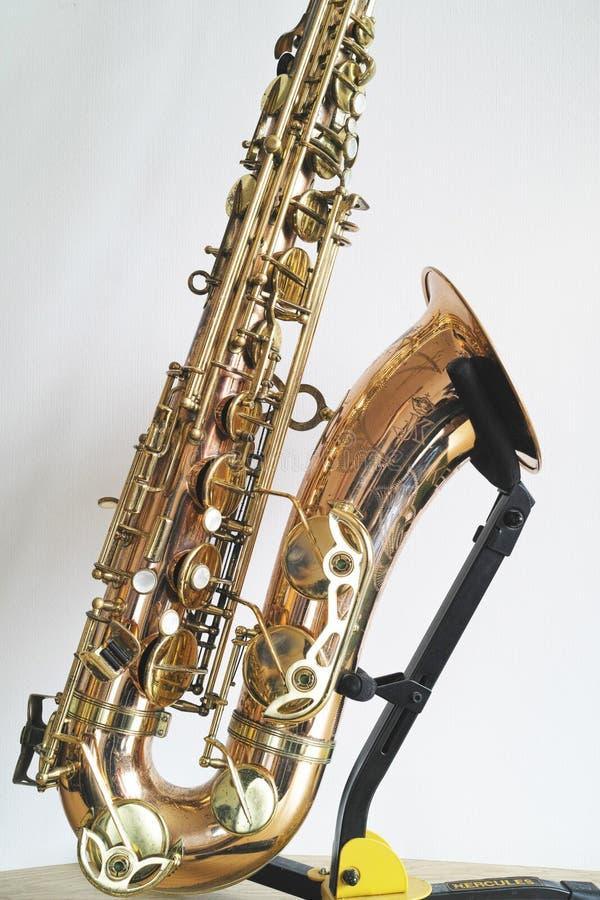 Détails de saxophone images libres de droits