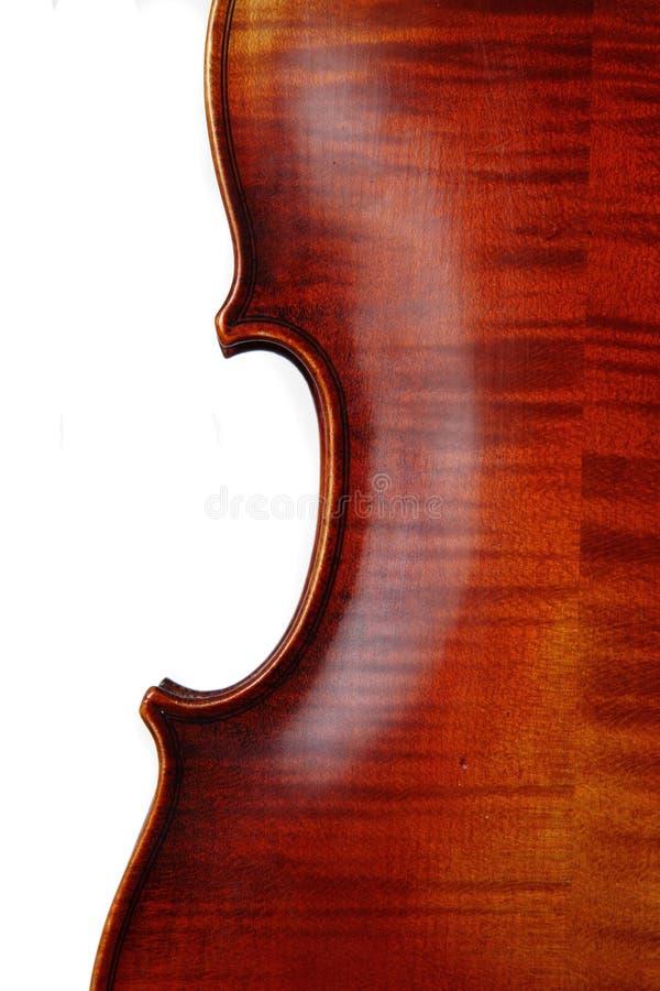 Détails de violon photo libre de droits