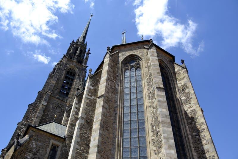 Détails et architecture de Brno photos stock