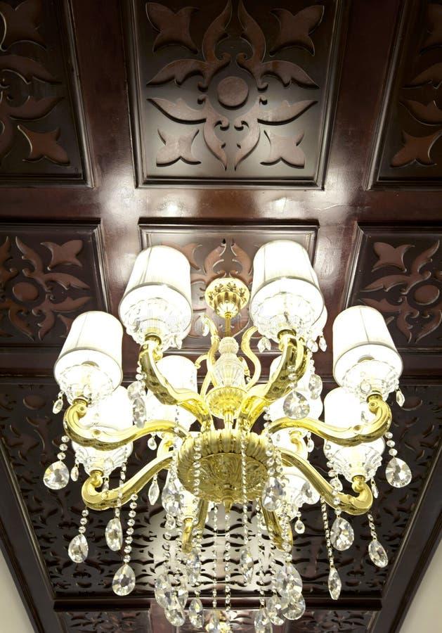Détails intérieurs luxueux images stock
