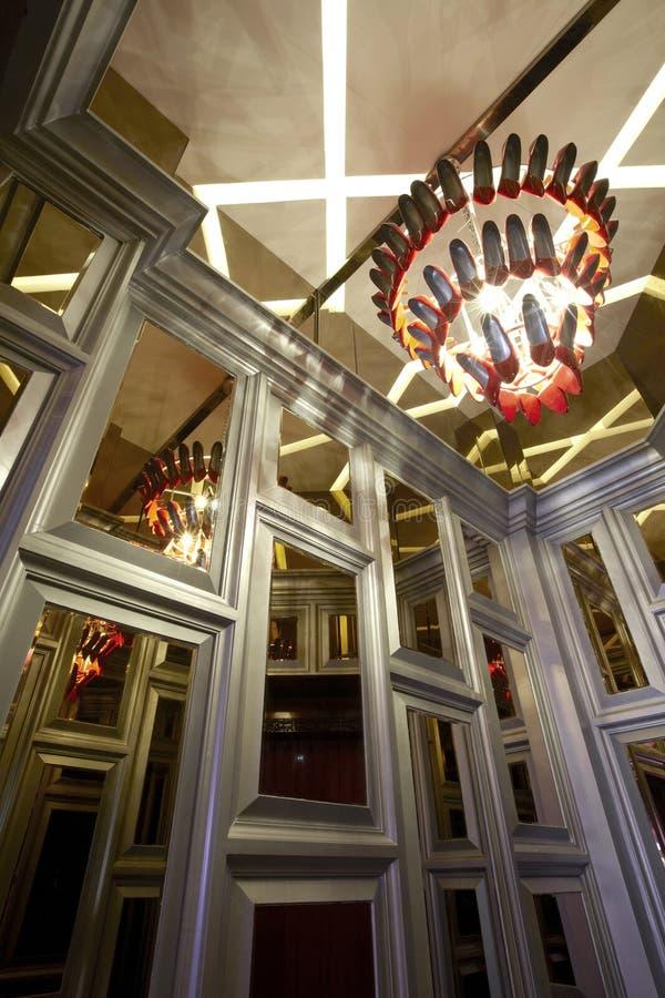 Détails intérieurs luxueux photos stock