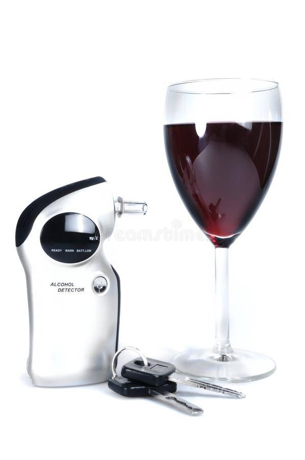 Détecteur d'alcool photographie stock