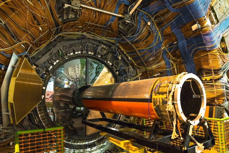 Détecteur de Lhcb dans CERN, Genève images stock