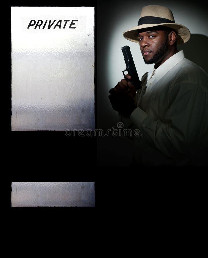 Détective privé photos stock