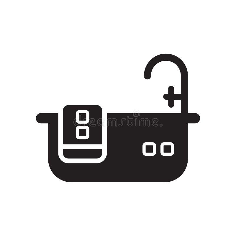 Détendez l'icône d'isolement sur le fond blanc illustration stock