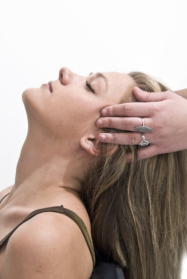 Download Détente image stock. Image du regard, détente, massage - 4350237