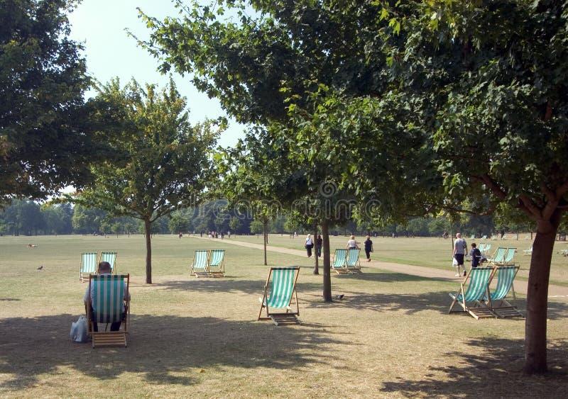 Détente de Hyde Park images libres de droits