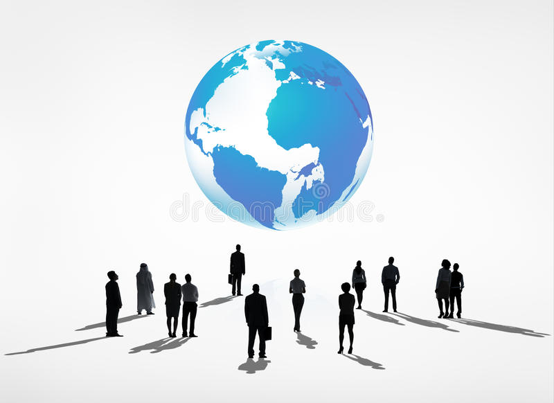 Download Détermination globale photo stock. Image du discussion - 45365332
