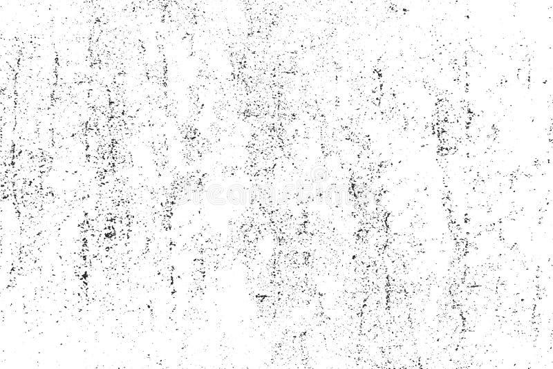 Détresse, texture de saleté Illustration de vecteur Fond grunge Modèle avec des fissures illustration stock