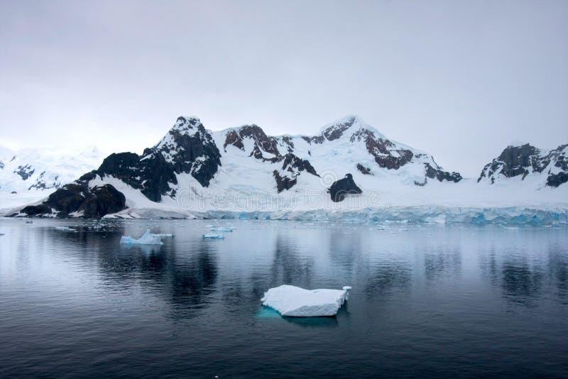Détroit de Gerlache, Antarctique image libre de droits