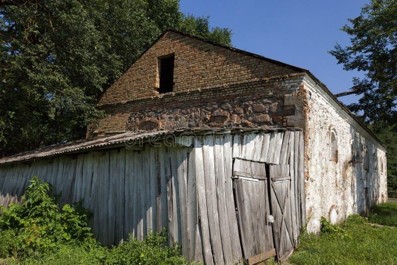 Détruisez les bâtiments belarus photographie stock libre de droits