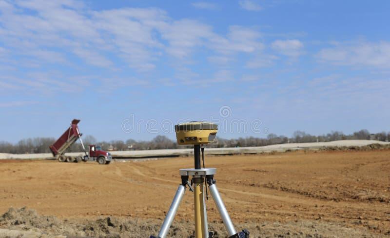 Développement de terrain de chantier de construction photo libre de droits