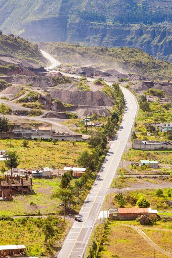 Développement en Equateur images libres de droits
