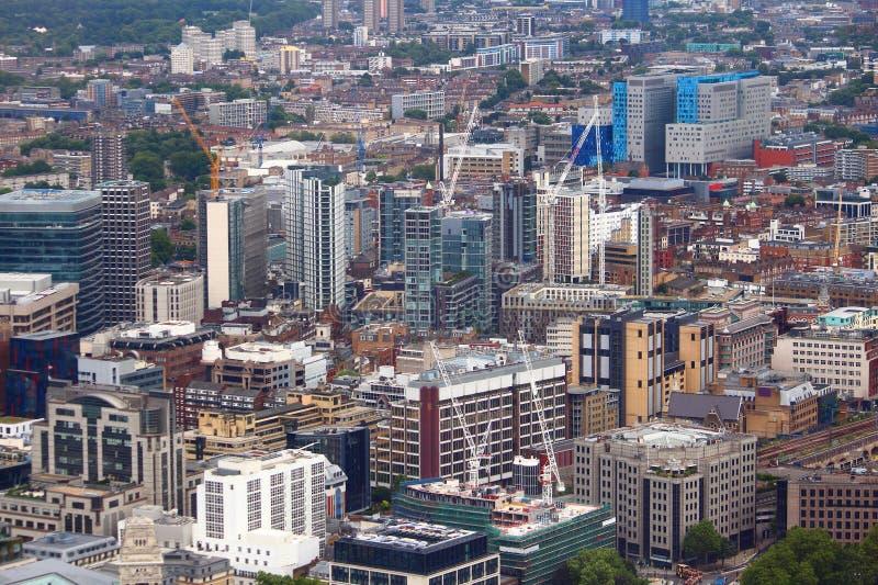 D?veloppement moderne de Londres image libre de droits