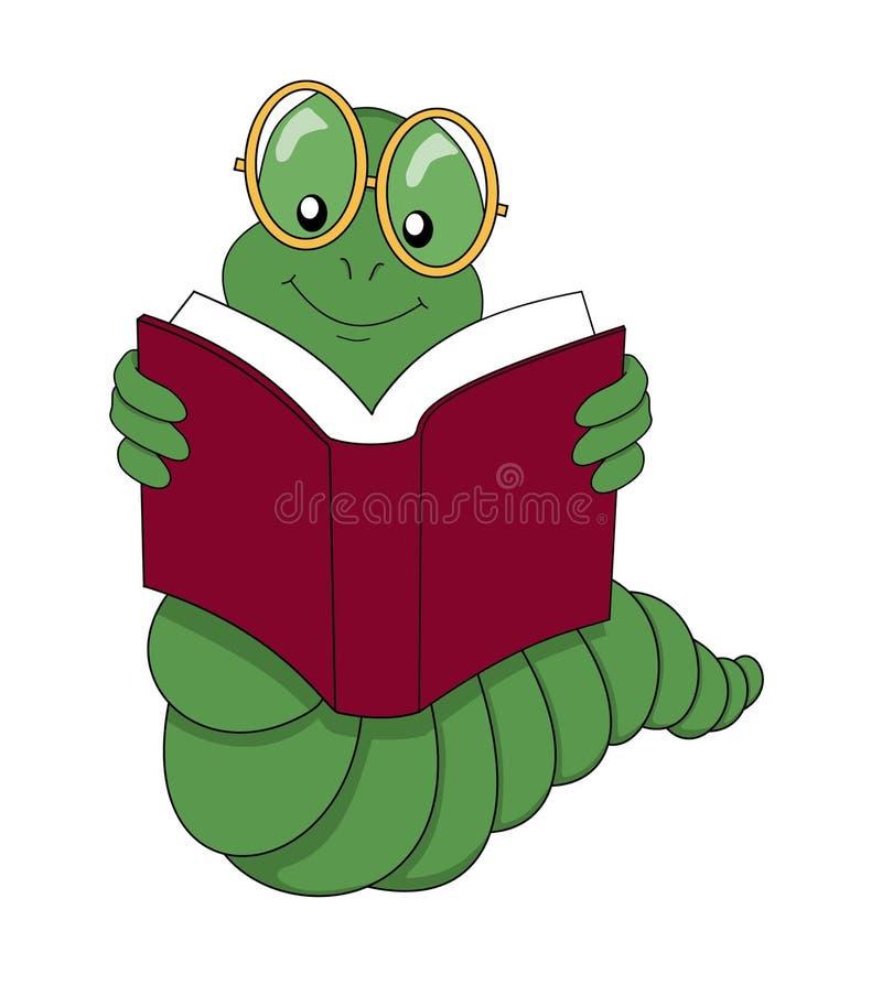 Dévoreur de livres illustration libre de droits