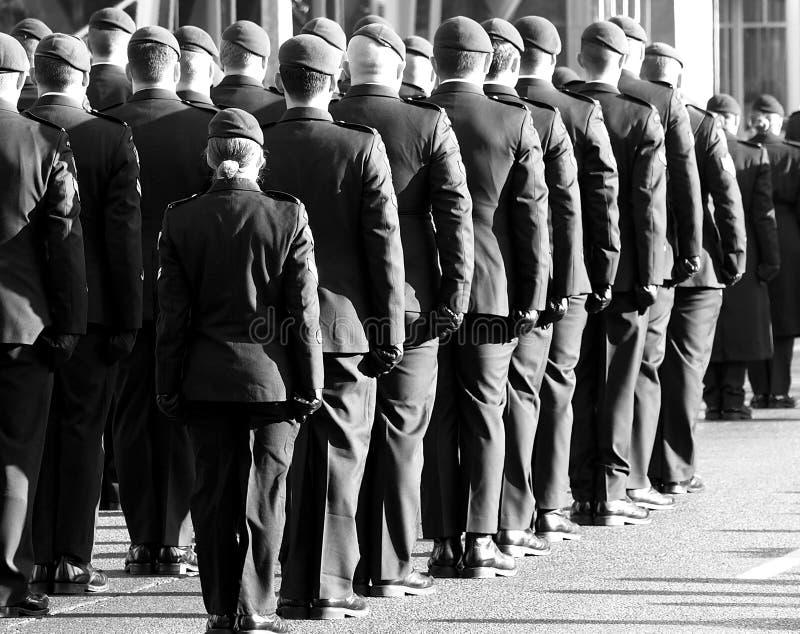 Día canadiense de la conmemoración de In Uniform For del soldado imagen de archivo