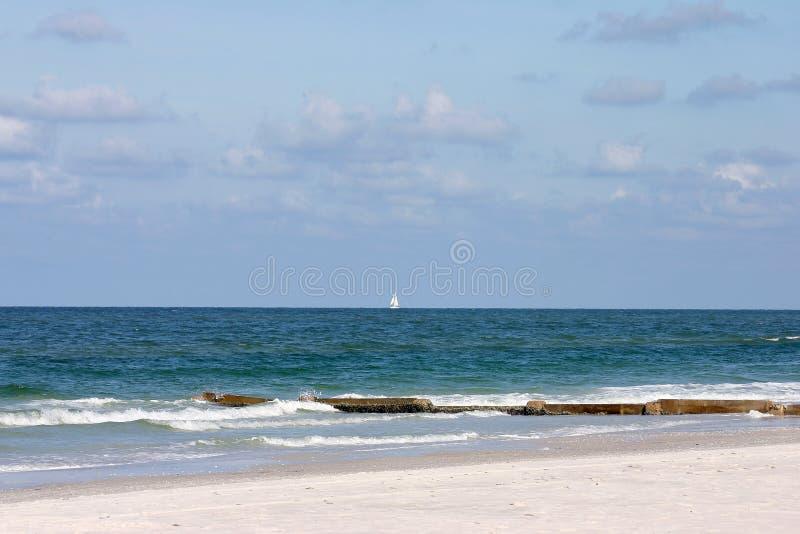Día con playas foto de archivo libre de regalías