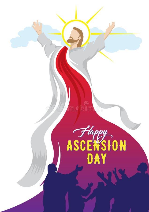 Día de ascensión feliz de Jesus Christ libre illustration