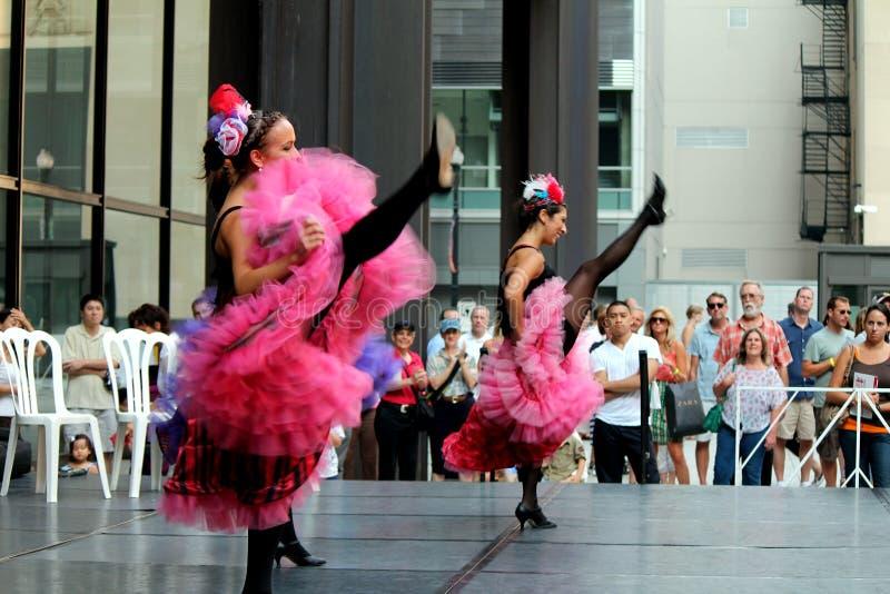 Día de Bastille Chicago 2012 fotografía de archivo libre de regalías