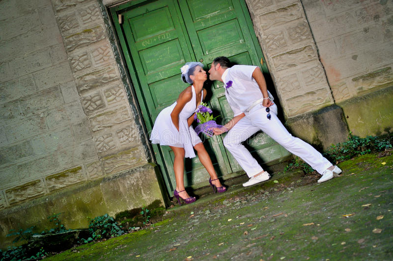 Día de boda fotografía de archivo