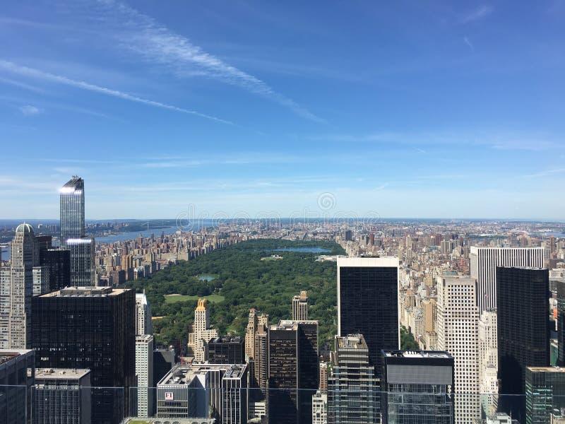 Día de Central Park imagenes de archivo
