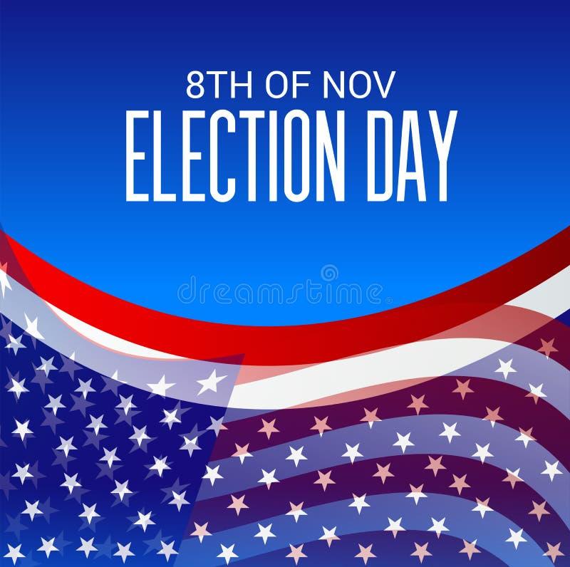 Día de elección stock de ilustración