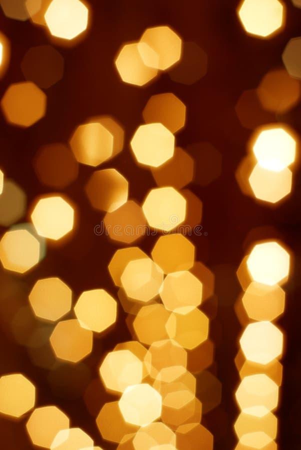 Día de fiesta abstracto colorido del oro fotografía de archivo libre de regalías