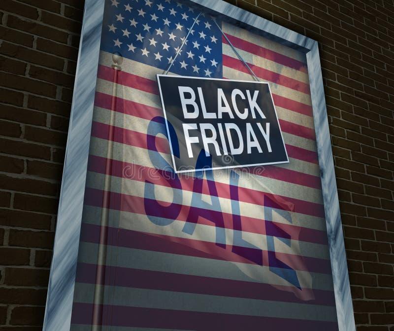 Día de fiesta de Black Friday ilustración del vector