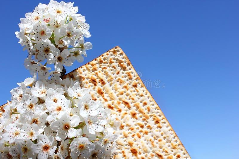 Día de fiesta judío de la pascua judía y del matzo fotografía de archivo