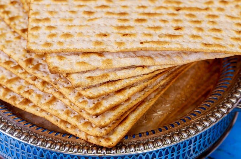 Día de fiesta judío judío del pan ácimo de la pascua judía del matza imagenes de archivo