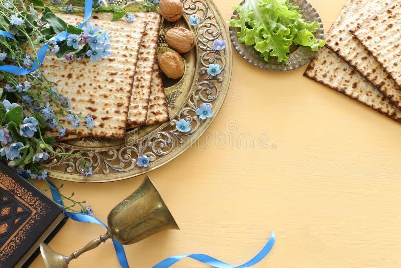 Día de fiesta judío de la pascua judía del concepto de la celebración de Pesah fotos de archivo