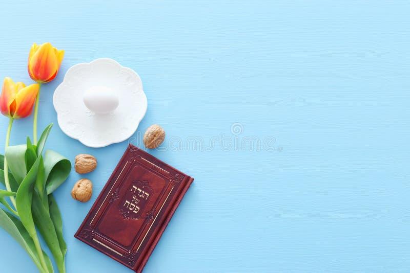 Día de fiesta judío de la pascua judía del concepto de la celebración de Pesah imágenes de archivo libres de regalías