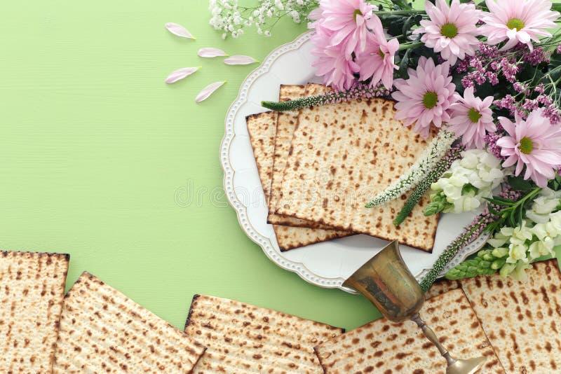 Día de fiesta judío de la pascua judía del concepto de la celebración de Pesah fotografía de archivo libre de regalías