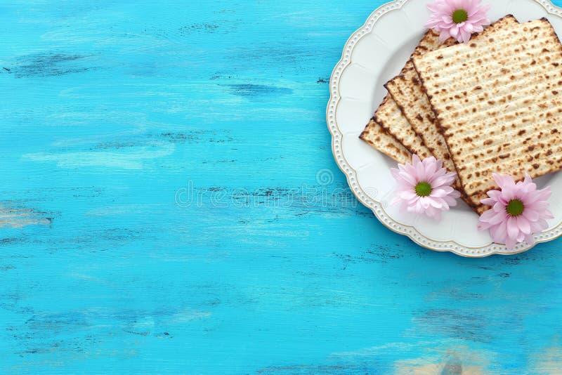 Día de fiesta judío de la pascua judía del concepto de la celebración de Pesah fotografía de archivo
