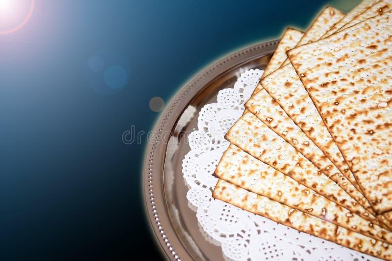 Día de fiesta judío de la primavera de la pascua judía y de sus cualidades ilustración del vector