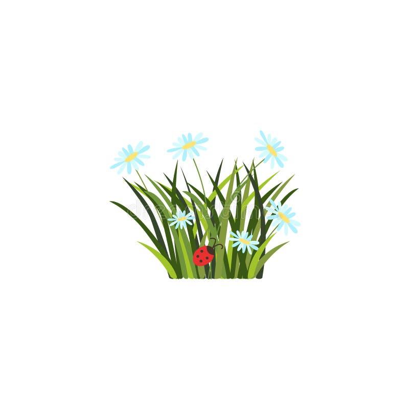 Día de fiesta de pascua del vector, bandera de la primavera stock de ilustración