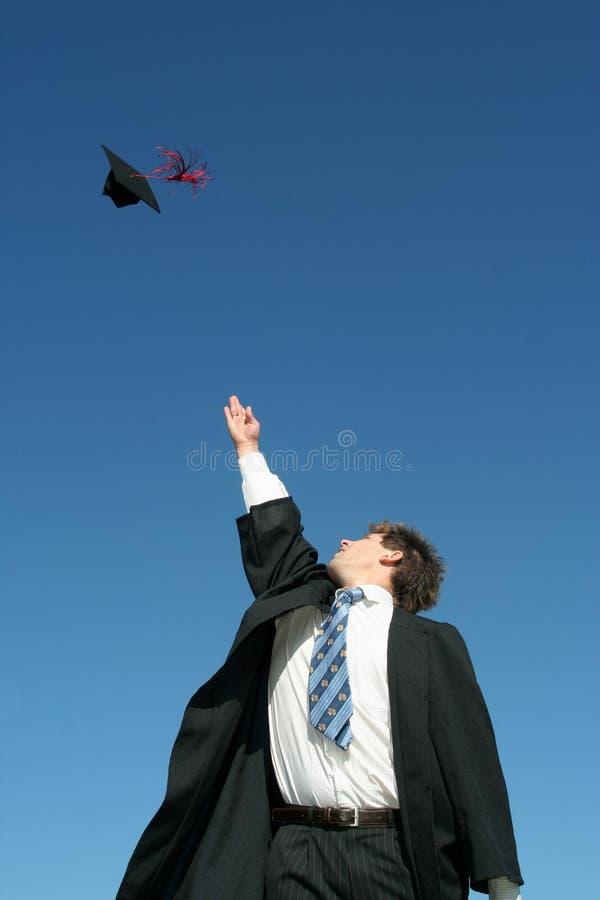 Día de graduación foto de archivo