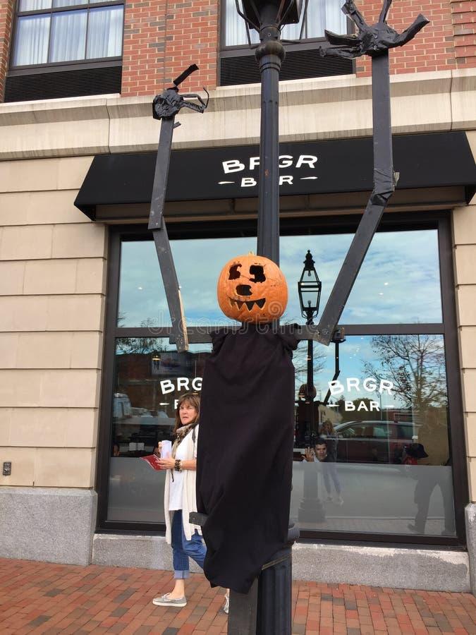 Día de Intereting en Portsmouth Sucesos de Halloween foto de archivo libre de regalías