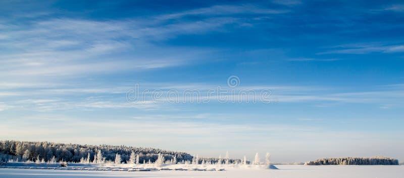 Día de invierno foto de archivo