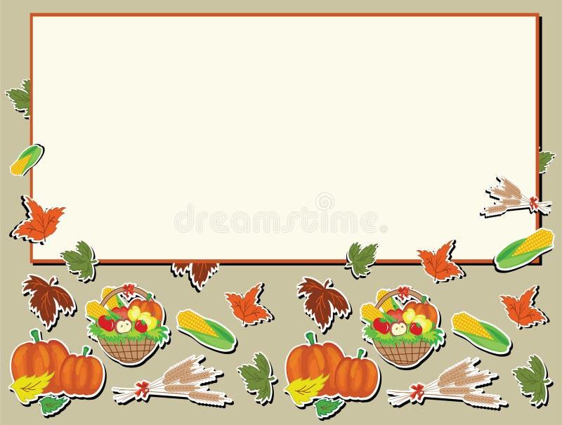 Día de la acción de gracias ilustración del vector