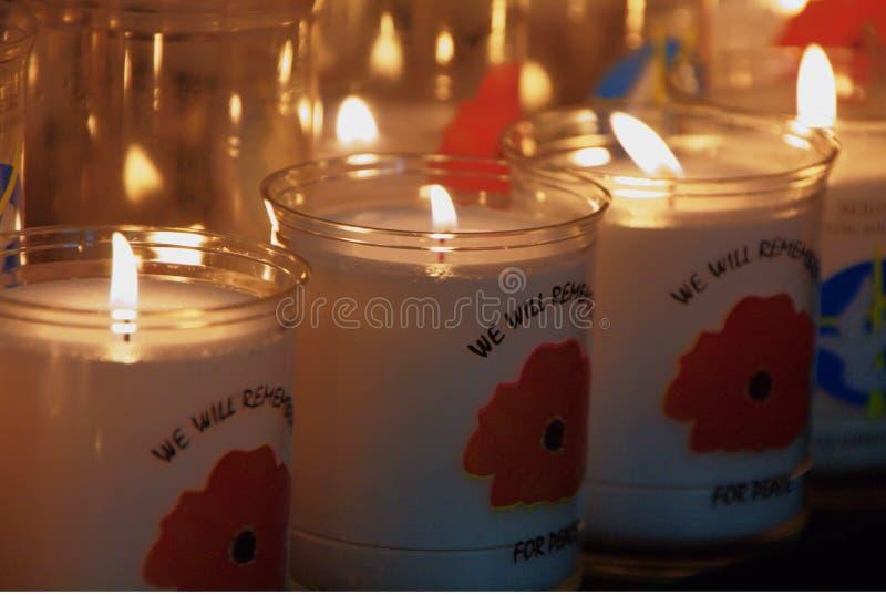 Día de la amapola de domingo de la conmemoración imagen de archivo