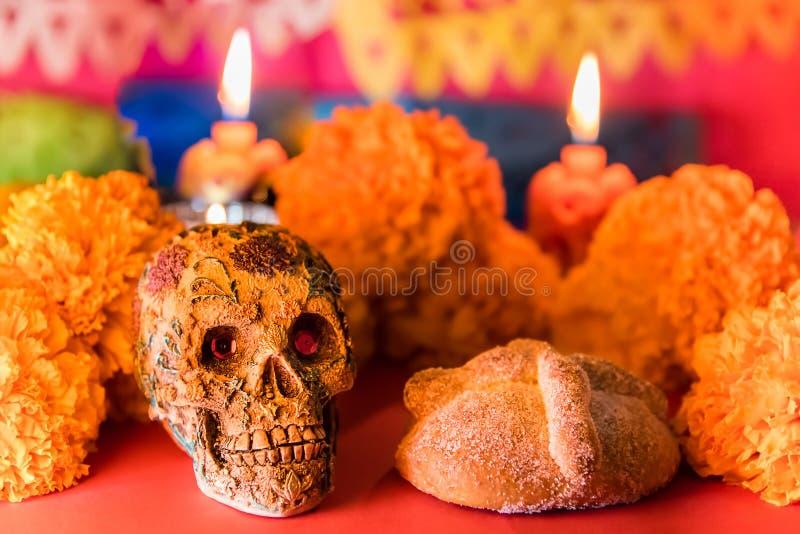 Día de la celebración muerta foto de archivo libre de regalías