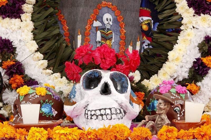 Día de la celebración muerta I fotos de archivo